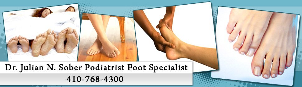 Podiatrist Office - Glen Burnie, MD - Dr. Julian N. Sober Podiatrist Foot Specialist