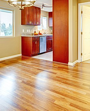 House hardwood floor