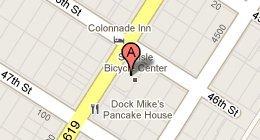 mapBeachy Keen - 4601 Landis Ave, Sea Isle City, NJ