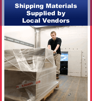 Freight Packaging - Dallas, TX  - TRAKK Fulfillment - Shrink Wrapped Package - Shipping Materials Supplied by Local Vendors