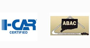 I-CAR certified, ABAC