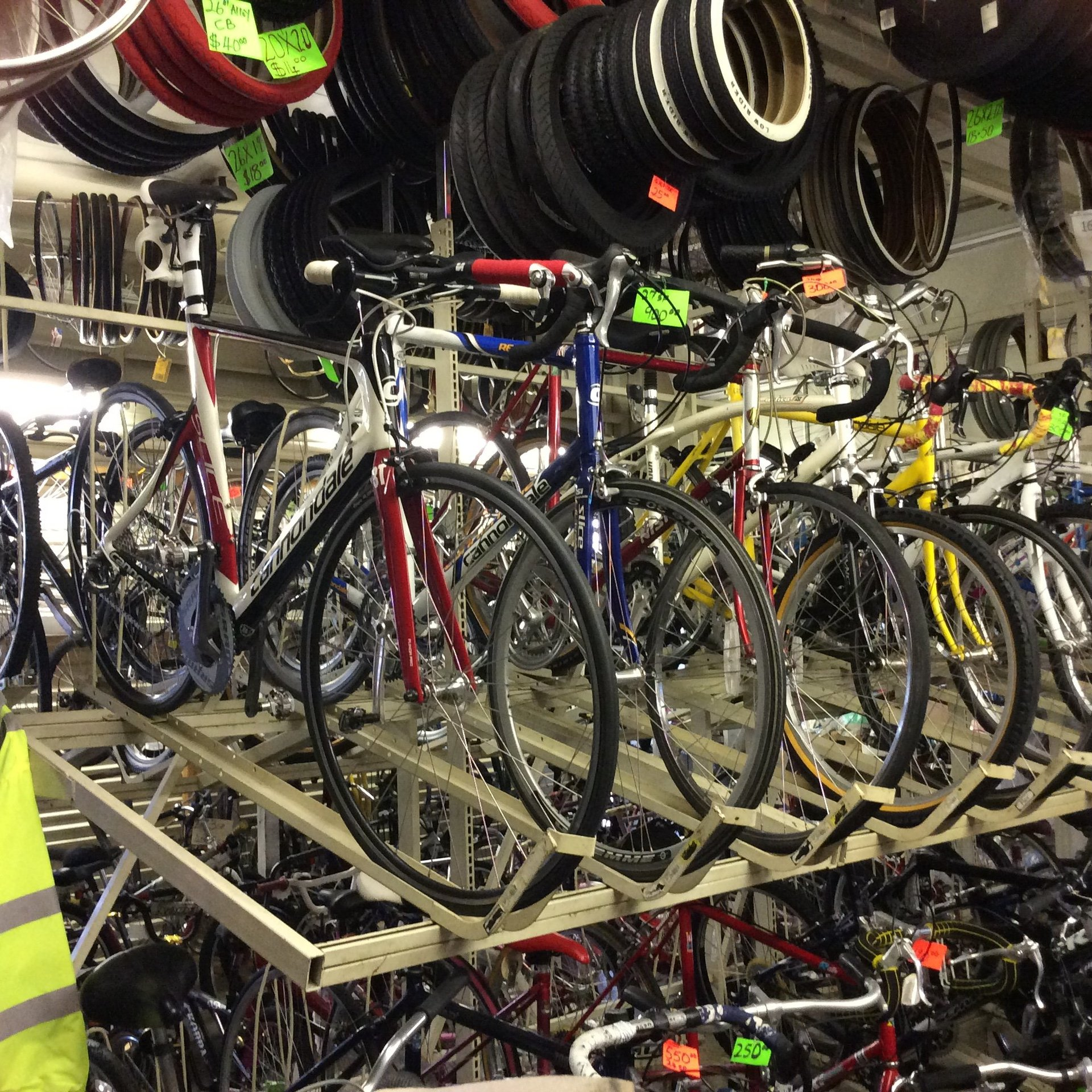 Bikes and parts