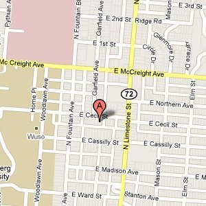 The Law office of Dennis E. Stegner - 111 E Cecil St  Springfield, OH 45504