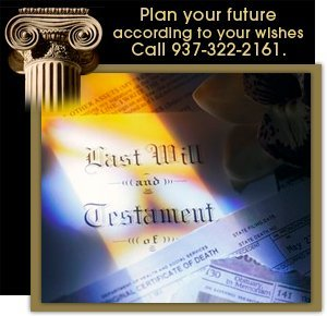 Wills & Estate Law - Springfield, OH -The Law Office of Dennis E. Stegner - Plan your future according to your wishes- call 937-322-2161.