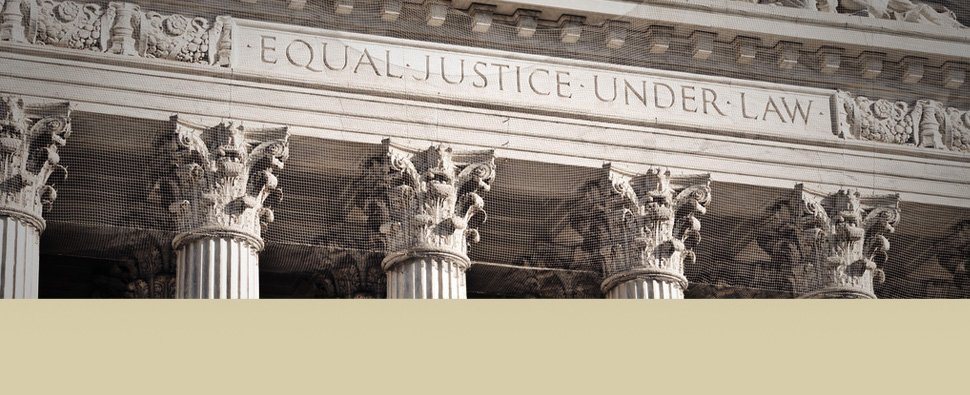 Equal justice under law courthouse