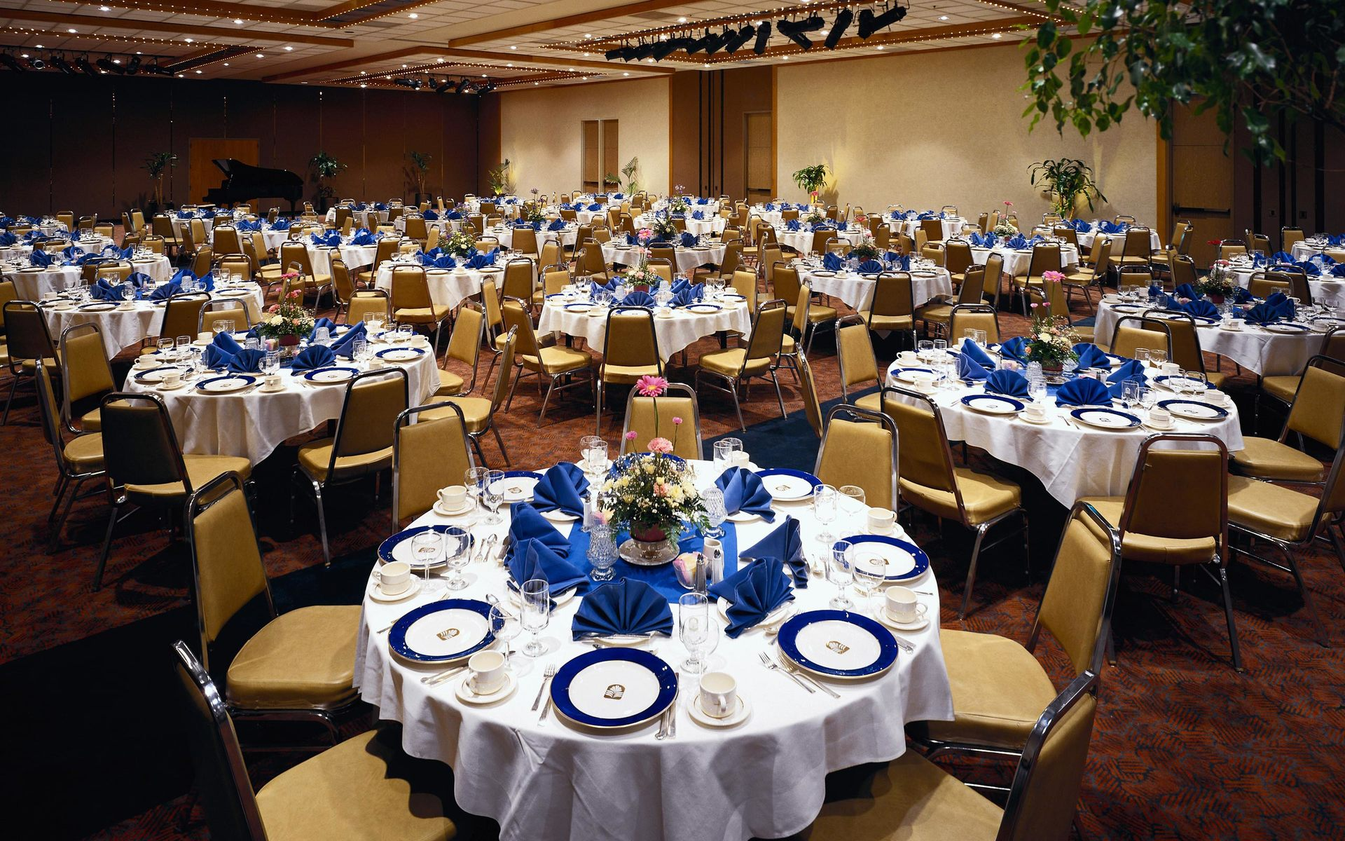 Banquet room for events