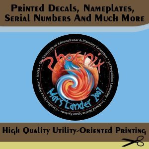 Commercial Printing - Tucson, AZ - Watermark Resources LLC Printing & Graphic Services - printing - Printed Decals, Nameplates, Serial Numbers And Much More - High Quality Utility-Oriented Printing