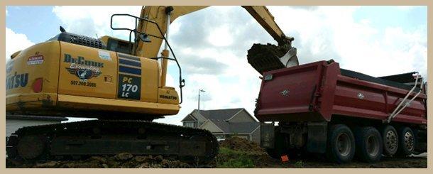 Grading | Byron, MN | DeCook Excavating | 507-365-8730