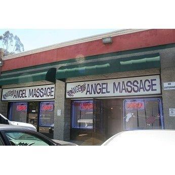 Angel massage center front view