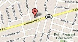 map - Glenn D. Kassman, Esq. - 2911 Route 88 Suite 12, Point Pleasant, NJ 08742