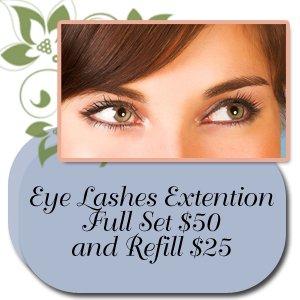 Nail Salon - Norwood, MA - Nails and Spa - nails - Eye lashes extention full set $50 and refill $25