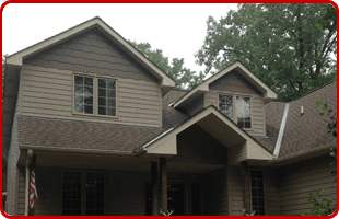 Professional residential siding