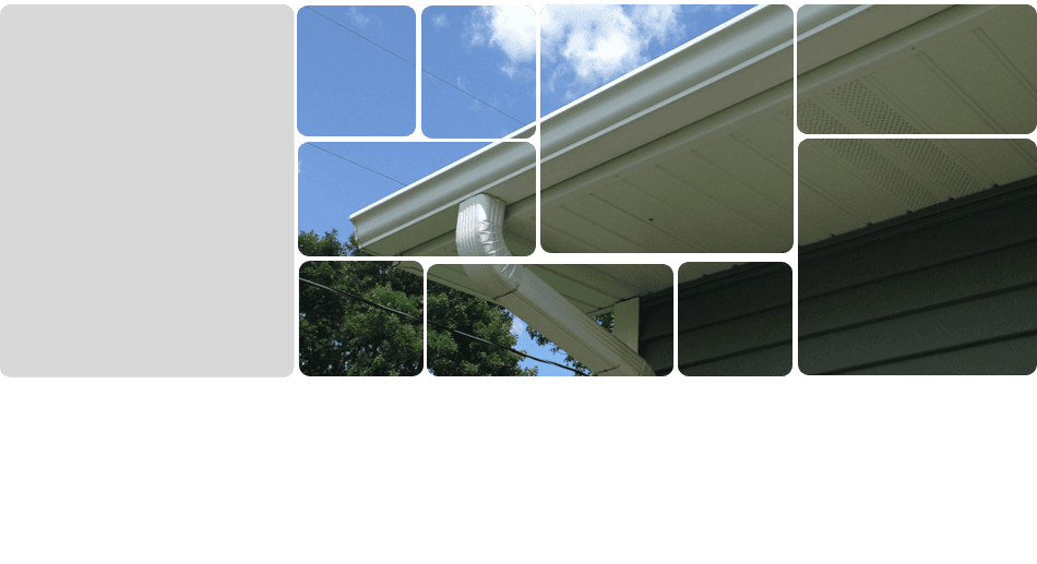 High quality seamless gutters