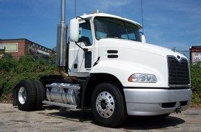 A white truck