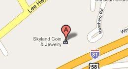 Skyland Coin & Jewelry 15548 Lee Highway, Bristol, VA 24202
