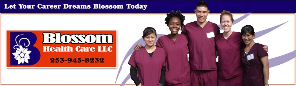 Nursing Assistant Training - Kent, WA - Blossom Nursing Assistant Training School