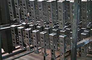Custom coating on metal bars