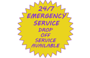 24/7 emergency and drop off service