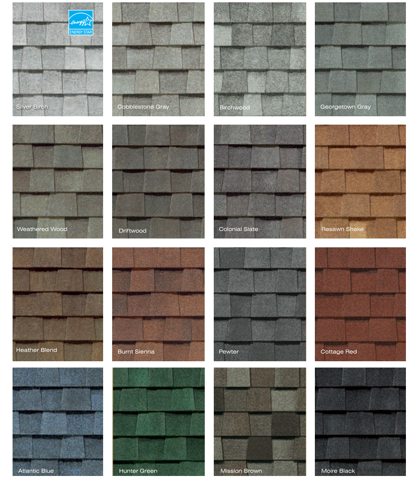 Ludwig Roofing Inc | Shingle Colors | 515-270-9643