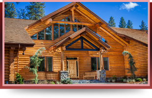 Log cabin roofing | Medford, OR | Ashland, OR | A-1 Classic Roofing