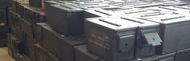 metal ammo cans