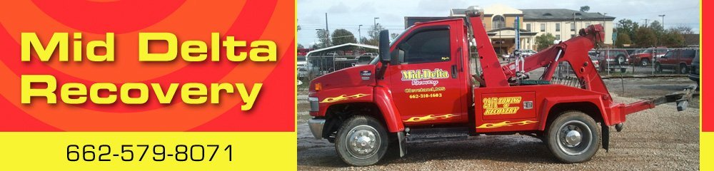 Towing Services - Cleveland, MS - Mid Delta Recovery