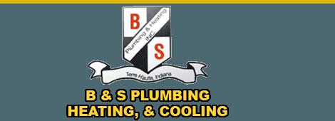 plumbing   Terre Haute, IN   B & S Plumbing Heating & Cooling   812-234-1152