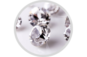 Repairing and cleaning of diamonds
