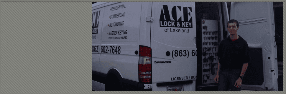 Fast locksmith service | Lakeland, FL | Ace Lock & Key | 863-602-7648