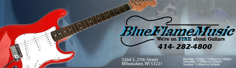 Acoustic Guitar - Milwaukee, WI  - Blue Flame Music
