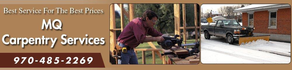 Snow Removal - Breckenridge, CO - MQ Carpentry Services
