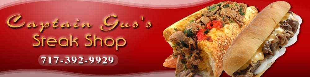 Sandwich Shop - Lancaster, PA - Captain Gus's Steak Shop