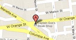 Captain Gus's Steak Shop 600 W Orange St Lancaster, PA 17603