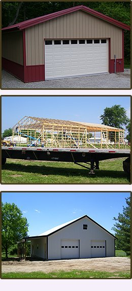 Pole Barns And Garages - Lewisburg, OH - Rodeffer Construction LLC