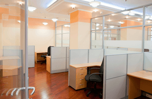 Clean and modern office