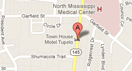 Town House Motel 931 South Gloster Street Tupelo, MS 38801