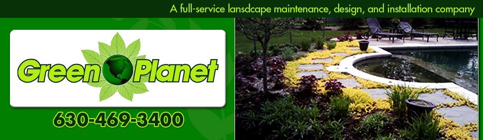 Green Planet Inc - Full-service Landscaping, Hardscaping, Brick Paving, and 24-hour Snow Removal Services - Glen Ellyn, IL