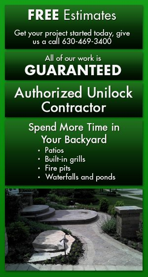 Residential and commercial brick paving and hardscaping services - Glen Ellyn, IL - Green Planet Inc
