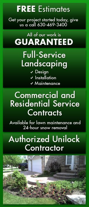 Landscaping Hardscaping And Snow Removal Services Glen Ellyn Il