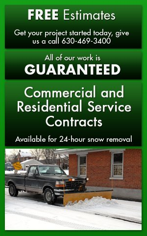 24-hour snow removal services - Glen Ellyn, IL - Green Planet Inc