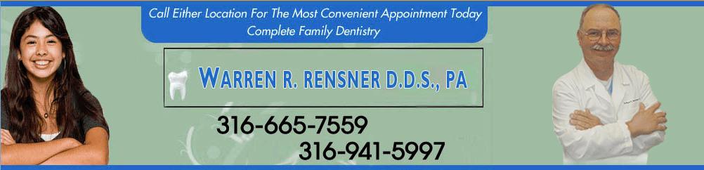 Family Dentists Wichita, KS - Warren R. Rensner D.D.S., PA
