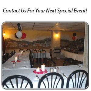 Italian Restaurant - Millerstown, PA - Jojo's O.I.P. & Cafe Dolce - Contact Us For Your Next Special Event!