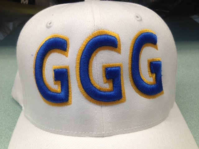 GGG embroidery