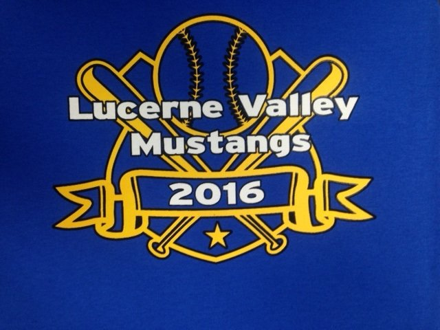 Lucerne Valley Mustang Screen print