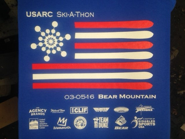 USARC Ski-a-thon screen print