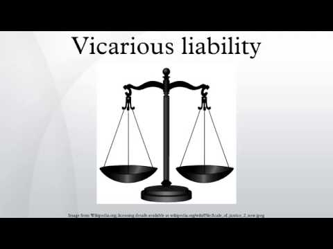 Personal Injury Vicarious Liability
