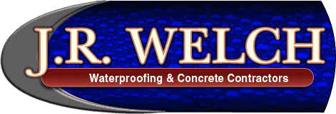 J.R. Welch Waterproofing & Concrete Contractors - Logo
