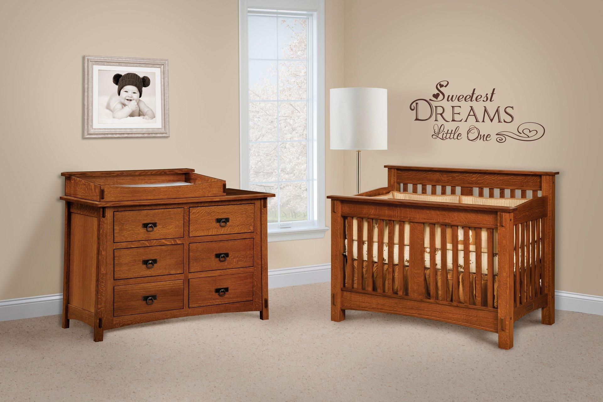Beautiful Amish Baby Furniture Elegant