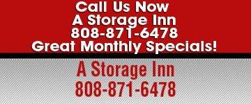 Specials - Kahului, HI - A Storage Inn