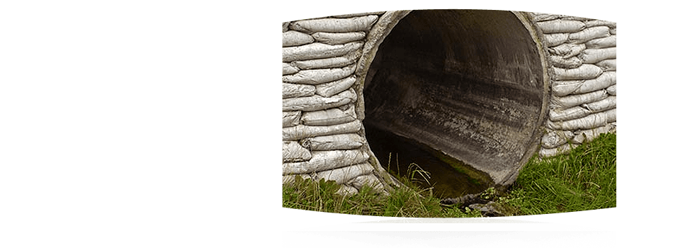 Drainage cleaning by professional